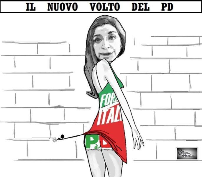 IL NUOVO VOLTO DEL PD scaled LA VIGNETTA DELLA SETTIMANA