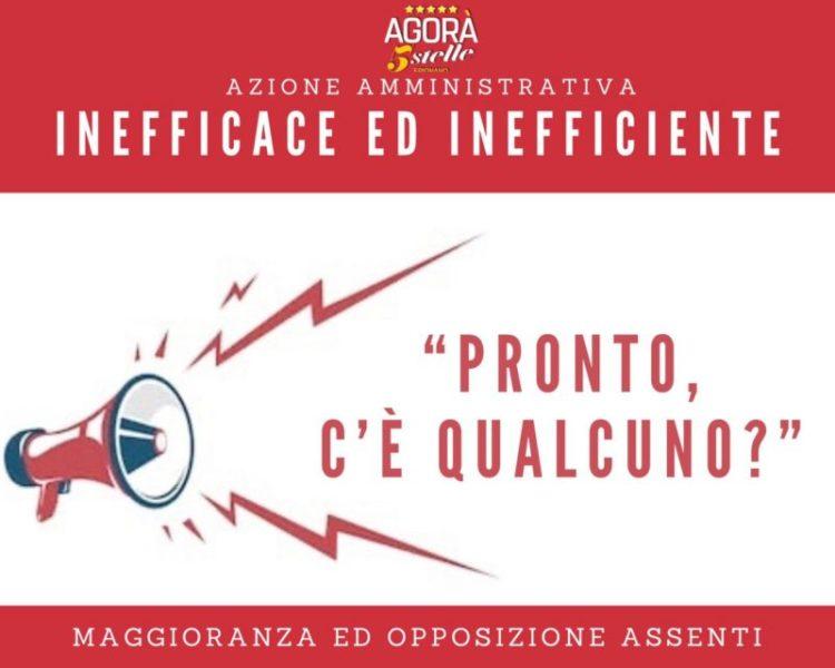 """%name FRIGNANO, AGORÀ 5 STELLE: """"SU FINANZIAMENTO PERSO SINDACO CONFUSO, MAGGIORANZA ED OPPOSIZIONE ANCORA ASSENTI"""""""