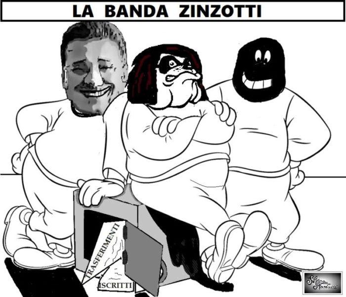 LA BANDA ZINZOTTI scaled OSPEDALE, GIOCHI & POTERE DEI VOLTAGABBANA