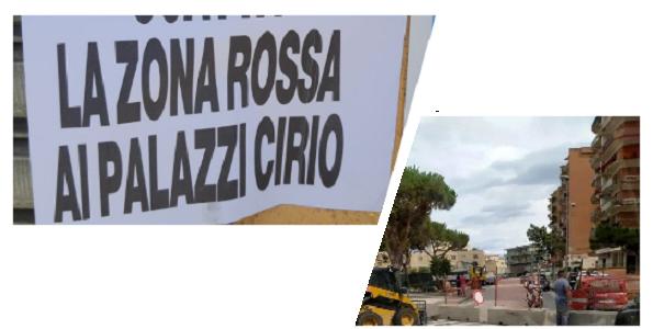 Logo AMBC Le tante zone della città di Mondragone MONDRAGONE, AMBC: NON SOLO LA ZONA ROSSA DEI PALAZZI CIRIO, MA ANCHE TANTE ZONE NERE...