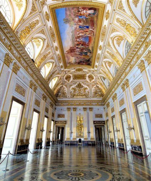 sala del trono scaled REGGIA, RIAPRONO GLI APPARTAMENTI REALI