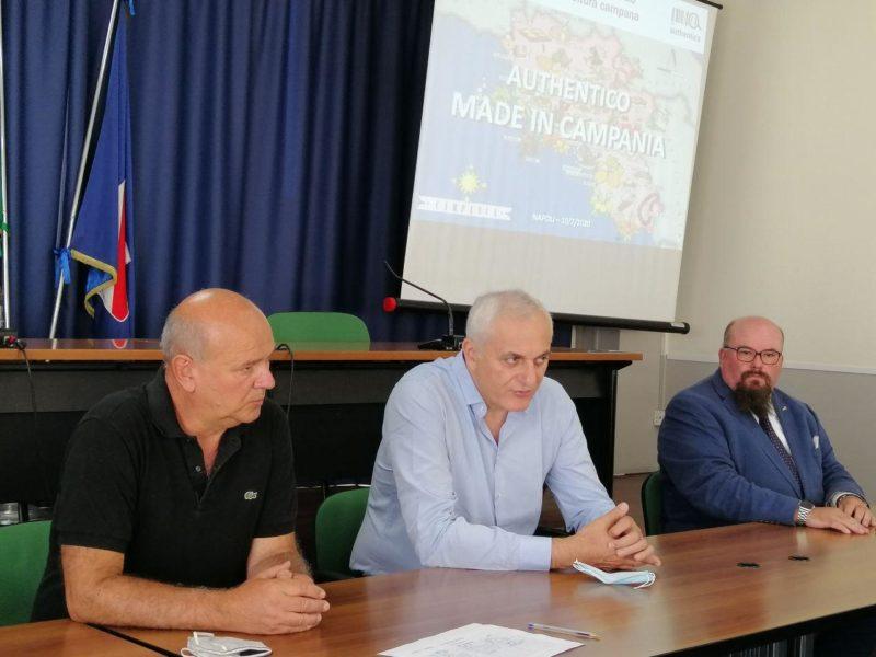 Authentico Made in Campania Nicola Caputo scaled CAMPANIA, PARTE AUTHENTICO MADE IN CAMPANIA, L'APP PER RICONOSCERE I VERI PRODOTTI ENOGASTRONOMICI DELLA REGIONE