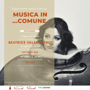 Beatrice Valente Trio Rassegna Musica in Comune Santa Maria Capua Vetere 300x300 MUSICA IN COMUNE, IL CONCERTO DEL BEATRICE VALENTE TRIO