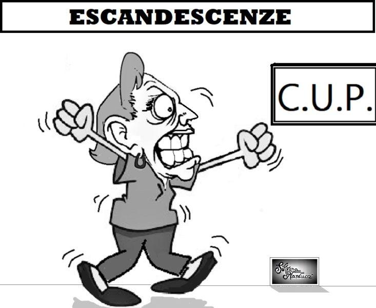 CUP OSPEDALE, MALEDUCAZIONE, INSULTI & DIFESA D'UFFICIO