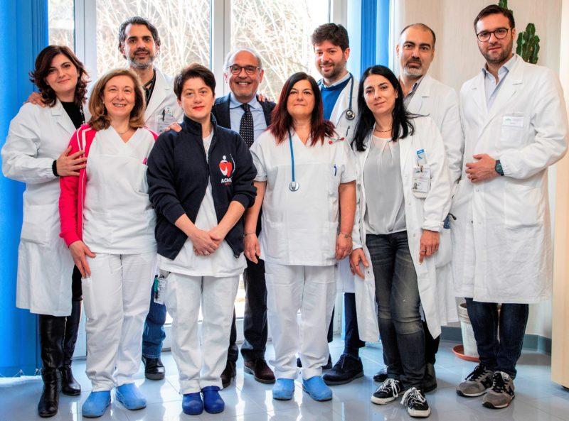 Gruppo lavoro Pacileo 1 scaled NAPOLI, INSUFFICIENZA CARDIACA AVANZATA: AL MONALDI PROTOCOLLO MEDICO ALLAVANGUARDIA