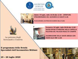 La patrona degli aeronauti a Caserta il programma del 25 e 26 luglio 2020 300x225 A CASERTA LA PATRONA DEGLI AERONAUTI, LA PROGRAMMAZIONE