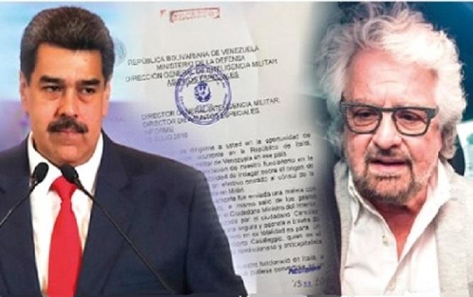 MADURO GRILLO I GRILLINI E QUEI SOSPETTI RAPPORTI CON IL REGIME VENEZUELANO