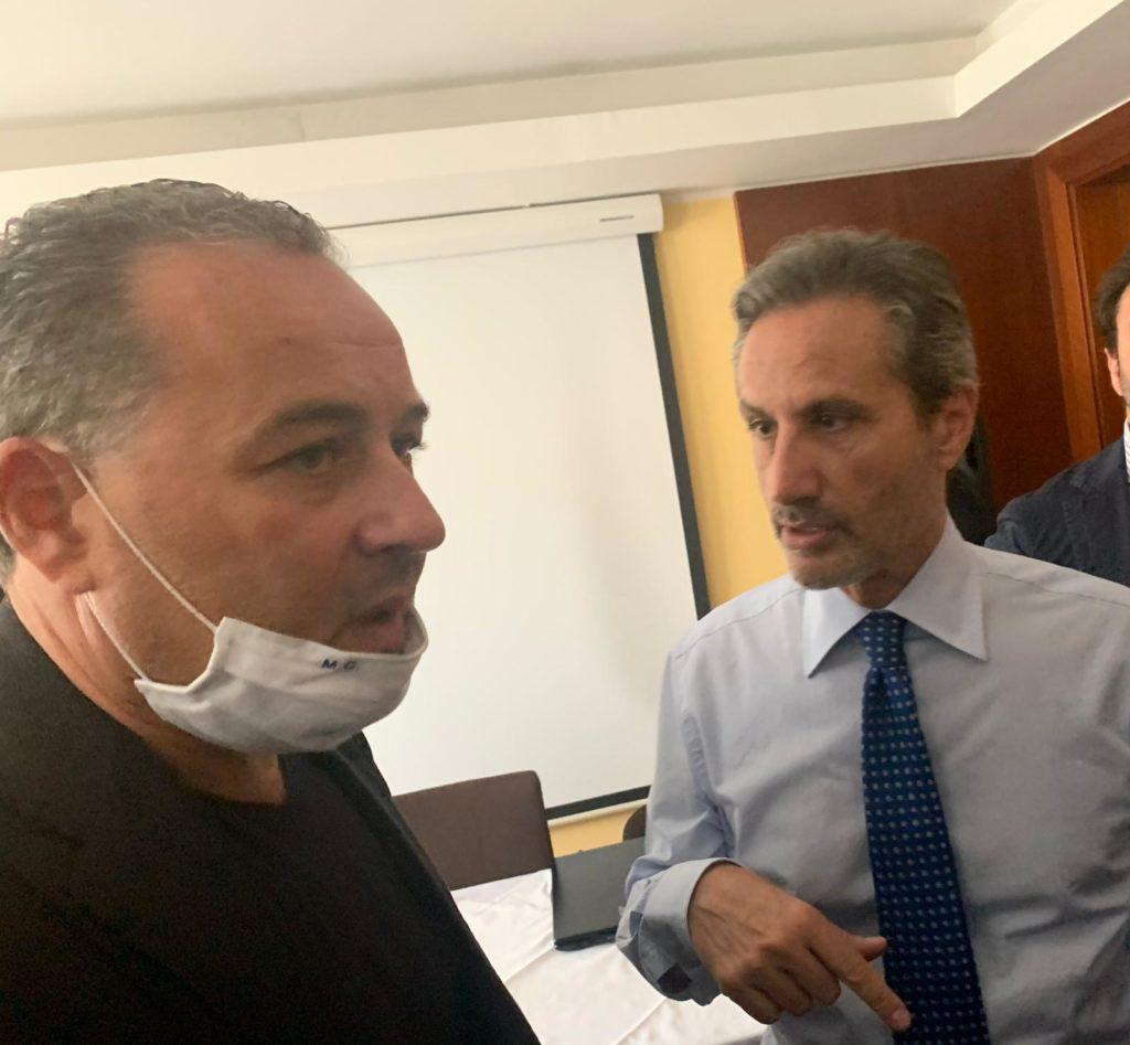 %name Conferenza Caldoro, Grimaldi: Caserta svenduta a Salerno in tutti settori, ora serve uno scatto d'orgoglio