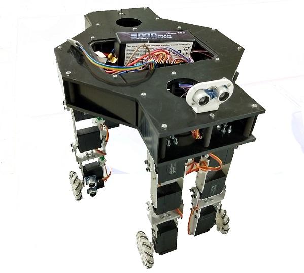 robot Cafolla IL ROBOT CHE POTRÀ GUIDARE I PAZIENTI ALL'INTERNO DELL'OSPEDALE