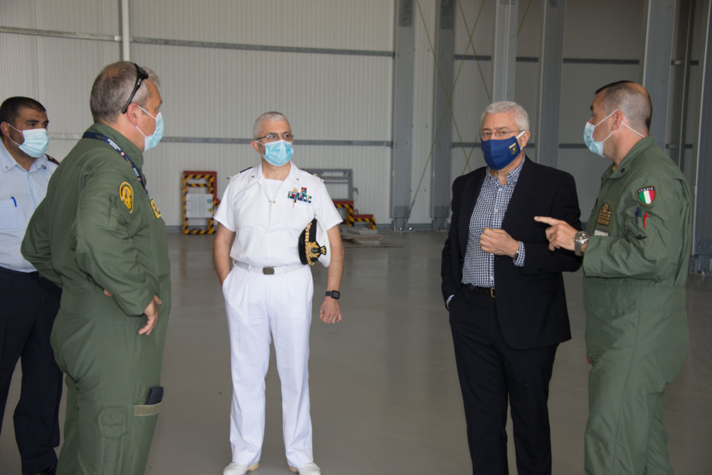 un momento della visita 1024x683 AL 9° STORMO CONSEGNATE NUOVE INFRASTRUTTURE PER LA NATO
