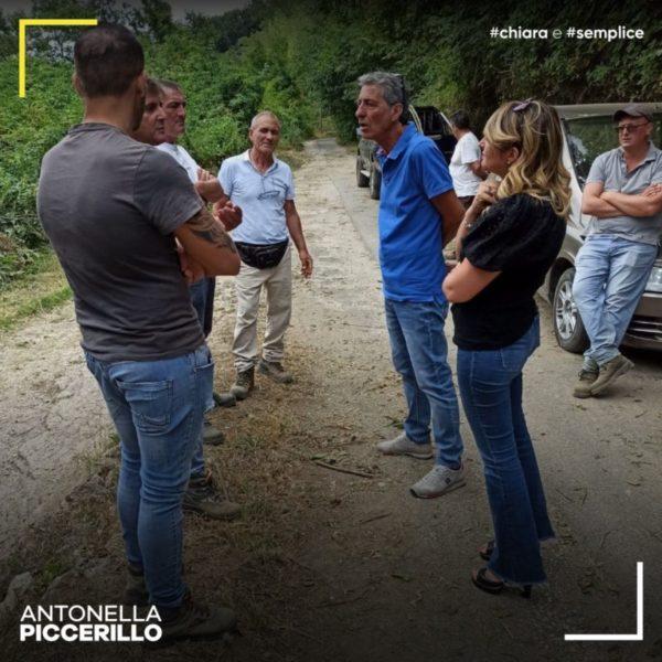 """Antonella Piccerillo San Felice a Cancello 2 scaled NUOVA VISITA AL SANTUARIO DI SAN FELICE, PICCERILLO: """"QUESTO È IL RISULTATO DI UN GRANDE LAVORO DI GRUPPO"""""""
