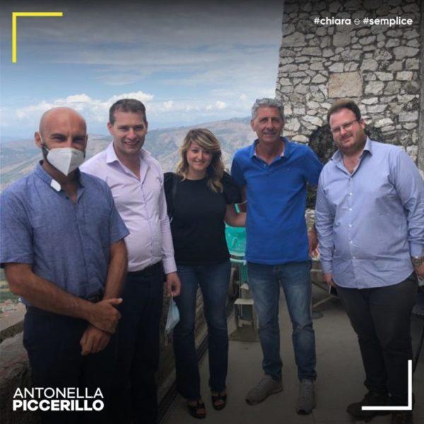 """Antonella Piccerillo San Felice a Cancello scaled NUOVA VISITA AL SANTUARIO DI SAN FELICE, PICCERILLO: """"QUESTO È IL RISULTATO DI UN GRANDE LAVORO DI GRUPPO"""""""