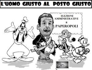 ELEZIONI PAPEROPOLI 300x229 LE VIGNETTE DI SILVANA