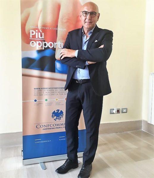 Errico Falocco delegato Turismo Confcommercio Caserta scaled TRE ALBERGHI SU DIECI ANCORA CHIUSI, CONFCOMMERCIO: COMPARTO SERIAMENTE A RISCHIO