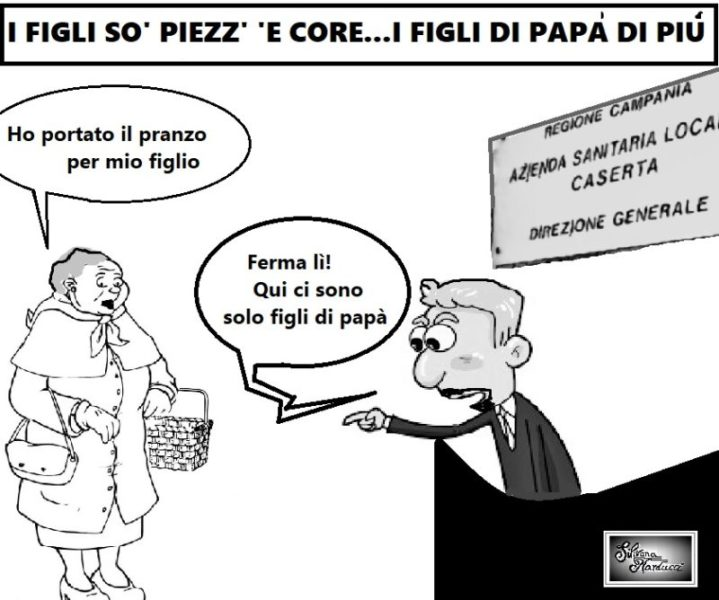 FIGNI DI PAPA scaled ASL, CONFLITTO D'INTERESSI & CARRIERE