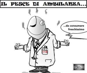 IL PESCE DI AMBULANZA... 300x253 LE VIGNETTE DI SILVANA