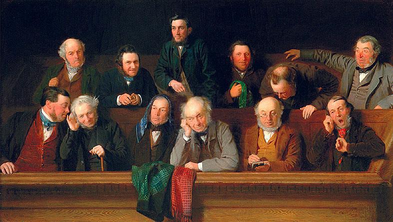 LA GIURIA John Morgan 1861 QUATTRO A TRE