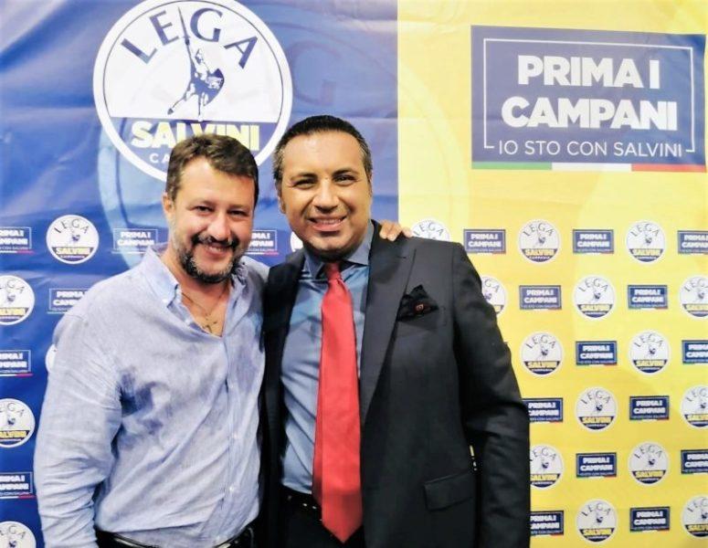 """%name REGIONALI, ANTONIO LUISE INCONTRA MATTEO SALVINI: """"LEADER SEMPRE AL NOSTRO FIANCO, CITTADINI RIOTTENGANO DIRITTI PERSI"""""""