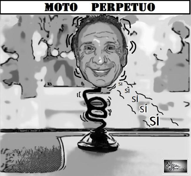 MOTO PERPETUO ELEZIONI & CANDIDATI, PALMERI INOPPORTUNA E DE ROSA MONOTONO