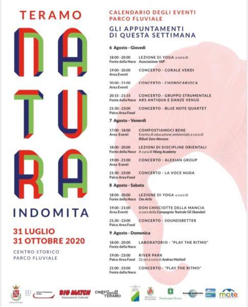 calendario eventi NI scaled TERAMO, NATURA INDOMITA: GLI EVENTI DEL PRIMO WEEK END