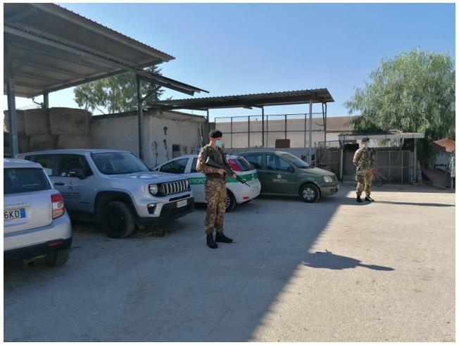 esercito terra fuochi 1 'ACTION DAY' INTERFORZE NELLA 'TERRA DEI FUOCHI'