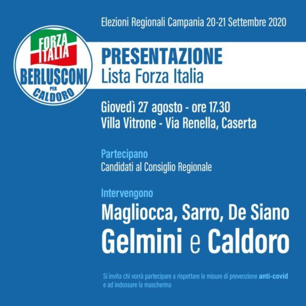 invito conferenza scaled FORZA ITALIA PRESENTA LA LISTAA VILLA VITRONE