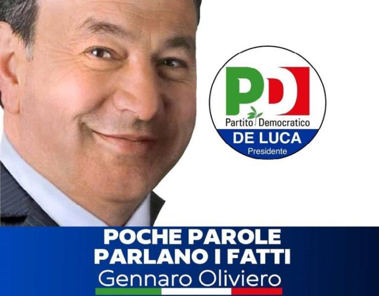 oliviero 2 scaled GENNARO OLIVIERO (PD): INIZIA LA CAMPAGNA ELETTORALE, POCHE PAROLE...PARLANO I FATTI!