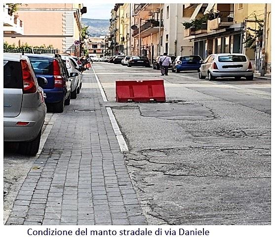 pista ciclabile via daniele FDI CHIEDE CONTO DELLA PISTA CICLABILE SU VIA TESCIONE A CASERTA