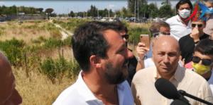 salvini copertina 300x149 VIDEO   SALVINI AL POLICLINICO: DE LUCA, SOLO PROMESSE. PER CASERTA IL MODELLO GENOVA