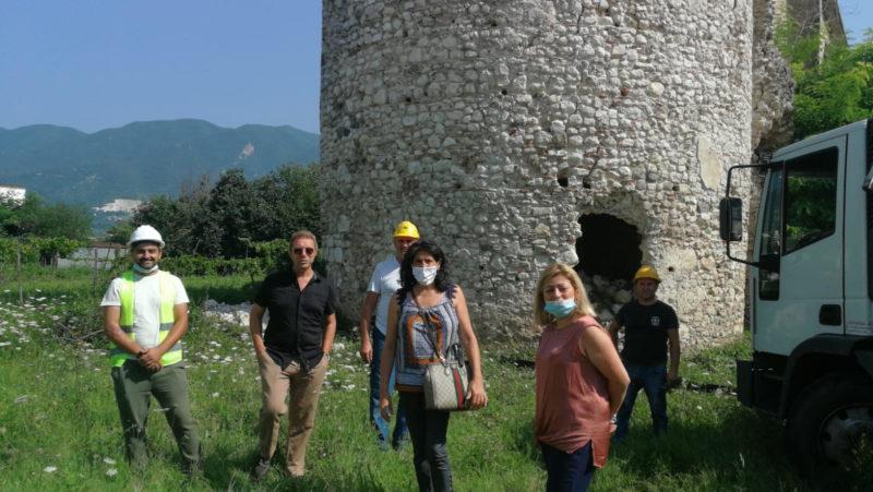 torre medievale castello di alife 1 scaled CASTELLO DI ALIFE, AL VIA L'INTERVENTO DI SOMMA URGENZA DEL TORRIONE MERIDIONALE SUD OVEST