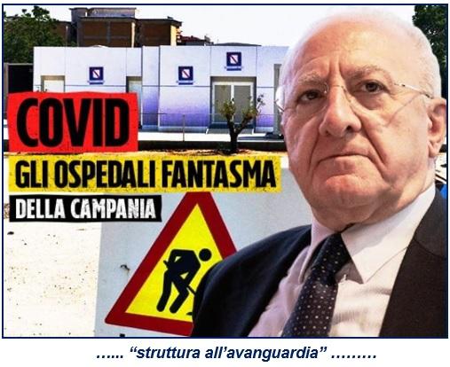 1 ASL, ORA URGE VIGILANZA ARMATA PER OSPEDALE COVID MADDALONI!