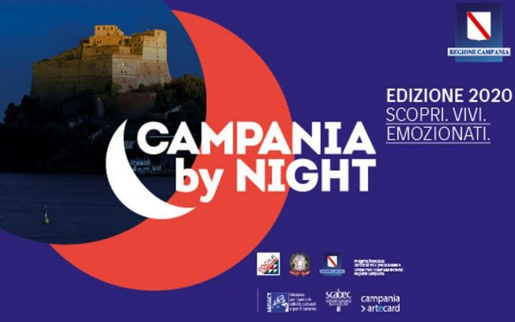 Campania By Night 2020 SMCV, CAMPANIA BY NIGHT: 100 ANNI... DI MAGICA AMICIZIA FELLINI E SORDI 1920   2020