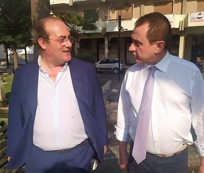 """Filippo Fecondo con Ettore Rosato FILIPPO FECONDO (IV): """"POLITICHE SOCIALI, UN'ONDA D'URTO PER SOSTENERE LE FAMIGLIE"""""""