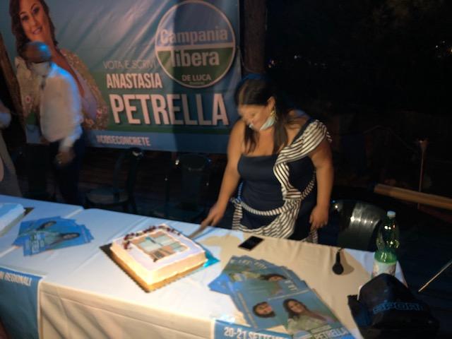 """IMG 1335 REGIONALI, ANASTASIA PETRELLA (CAMPANIA LIBERA) """"UN NUOVO IMPULSO PER IL LITORALE"""""""