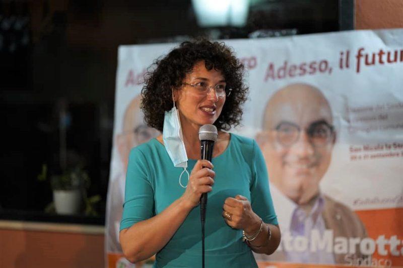 """Lucia Esposito San Nicola 01 2020 scaled LUCIA ESPOSITO: """"LA REGIONE RESTI A DE LUCA, IL PD TORNI AI MILITANTI"""""""
