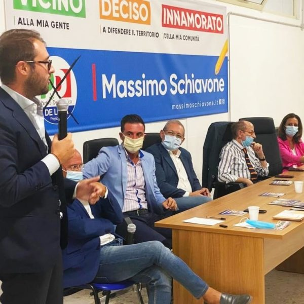 """Massimo Schiavone2 """"DA QUI INIZIA LA RINASCITA"""", SCHIAVONE (PD) INAUGURA IL COMITATO ELETTORALE E DA IL VIA ALLO SPINT FINALE"""