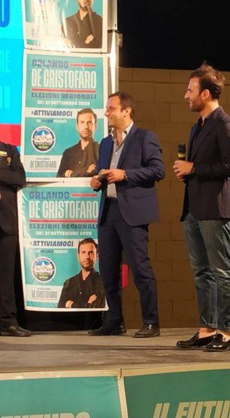 Orlando de Cristofaro Luigi Bosco scaled REGIONE CAMPANIA, DE CRISTOFARO CHIUDE LA CAMPAGNA ELETTORALE CON UN MEGA EVENTO IN STREAMING