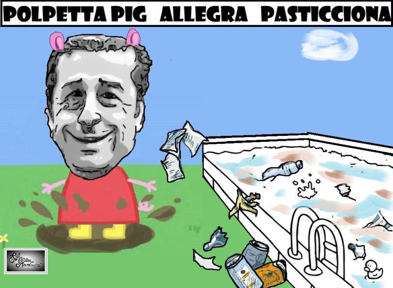 POLPETTA PIG 1 scaled STADIO DEL NUOTO NELLA SPORCIZIA E POLPET NELLE PIAZZE…