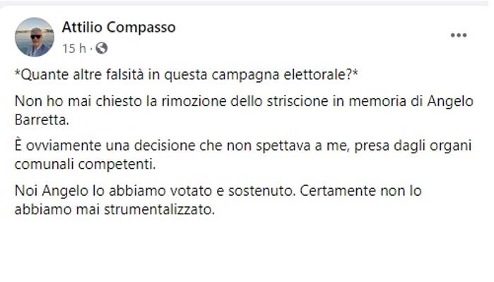 Post Attlio Compasso LE BUGIE DI ATTILIO COMPASSO INFIAMMANO LA PIAZZA CELLOLESE