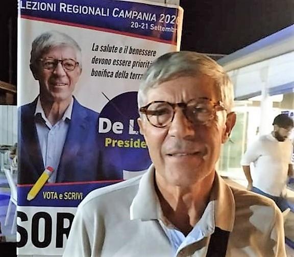 Sorvillo CASTEL VOLTURNO, SORVILLO (DE LUCA PRESIDENTE) INCONTRA I CITTADINI