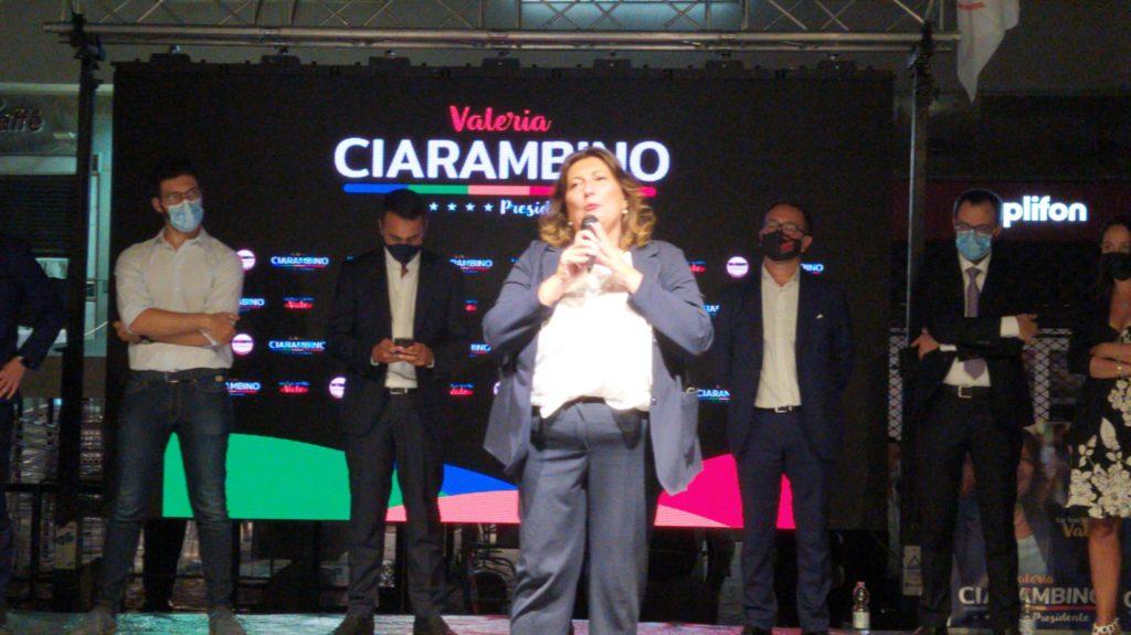 %name FOTOGALLERY   VALERIA CIARAMBINO CHIUDE LA CAMPAGNA ELETTORALE A PIAZZA CARITÀ A NAPOLI