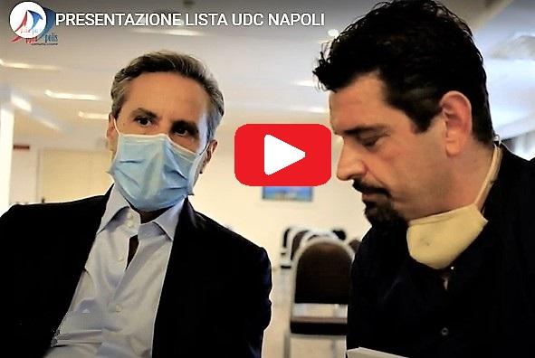caldoro intervista PRESENTATA A NAPOLI LA LISTA DELL'UDC CON CALDORO PRESIDENTE