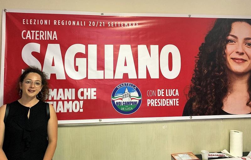 foto Caterina Sagliano VERSO LE REGIONALI, LA SAGLIANO INCONTRA I CITTADINI A SAN CIPRIANO