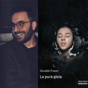 %name LA PURA GIOIA, OSVALDO FRASARI PRESENTA IL SUO LIBRO A PARETE