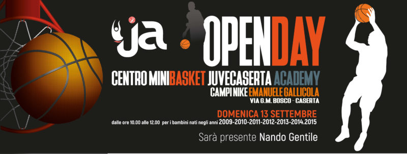 openday jca scaled JUVECASERTA ACADEMY: DOMENICA OPEN DAY