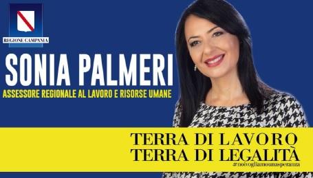 sonia palmieri 1 SONIA PALMIERI PER DE LUCA PRESIDENTE, TOUR ELETTORALE: IL PROGRAMMA DI DOMANI