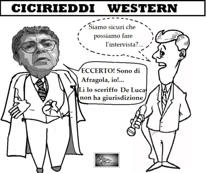 CICIRIEDDI WESTERN scaled ASL, LE CADUTE DI STILE DEL DG RICHIEDONO L'EDITING…