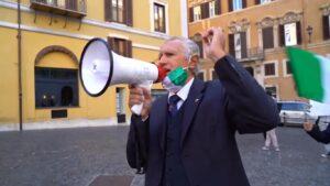 FotoManifestazioneRomaParlamentoUNAC 300x169 U.N.A.C. DICE BASTA ALLE AGGRESSIONI ALLE FORZE DI POLIZIA