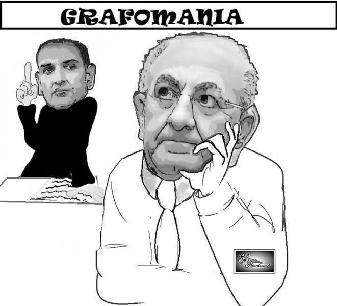 GRAFOMANIA scaled I DUE COMPARI E L'EPISTOLARIO…