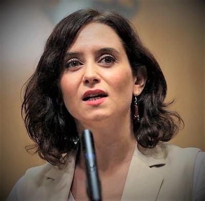 Isabel Díaz Ayuso SPAGNA: ELEZIONI GENERALI 2021?